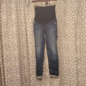 AG Maternity Ankle Jeans